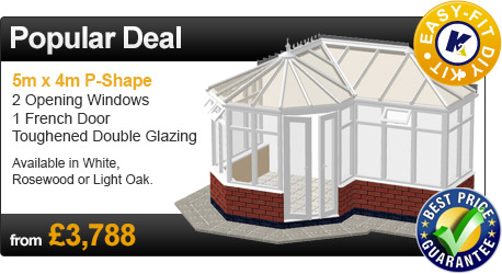 DIY P-Shape Conservatory Offers