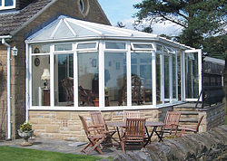 Hipped Lean To or Gullwing Conservatories