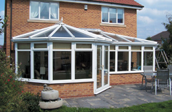 P Shaped DIY Conservatories